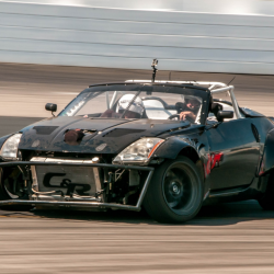 Pro 350z Covertible built by ASD for Falken Tire